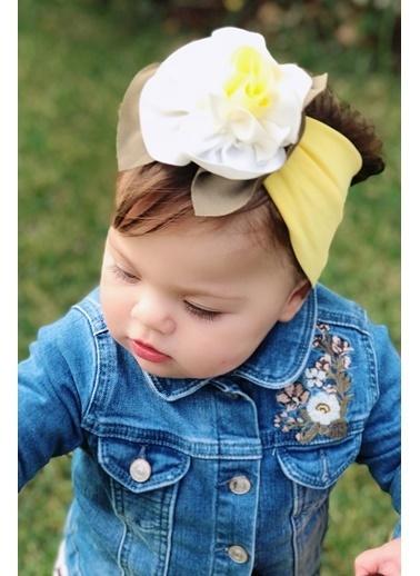 Baby Giz Bandana Sarı